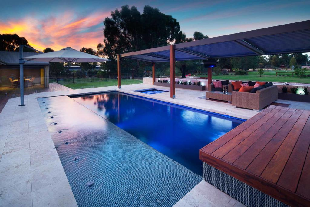 How to Add Value to Your Home with a Concrete Pool - A concrete pool makes your property look more appealing, Australian Outdoor Living.