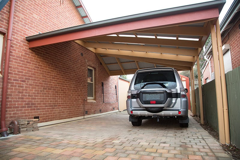 5 Ways to Improve the Selling Price of Your Home with a Carport - Carports can blend in with the original architecture to look like they always belonged, Australian Outdoor Living.