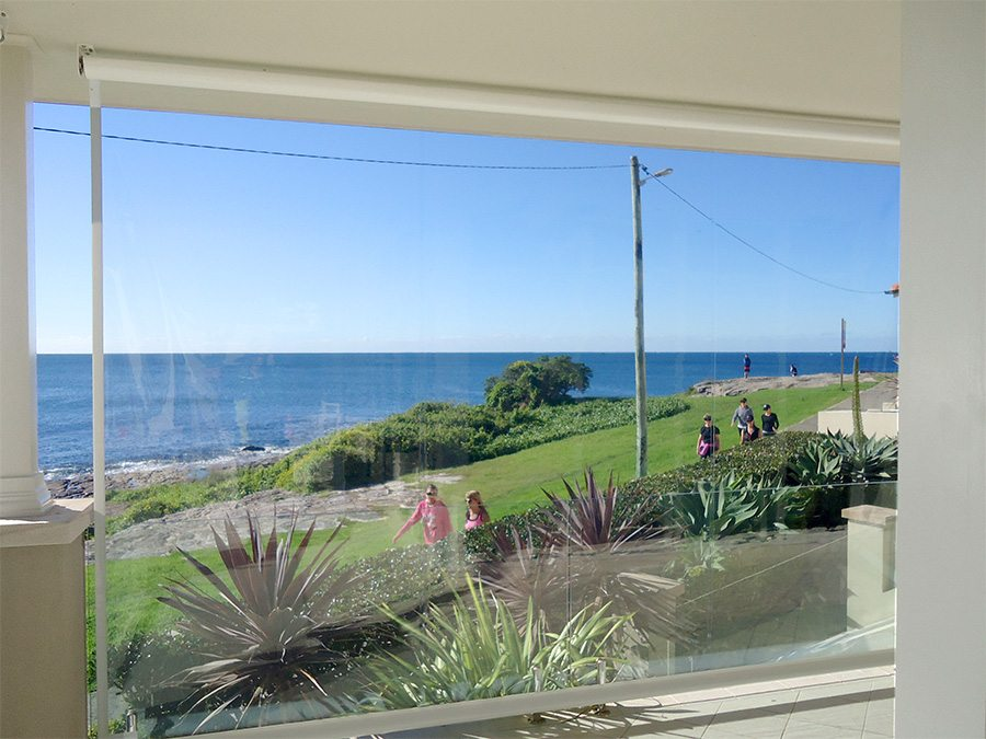 What are café and bistro blinds and how will they benefit your home - Café blinds or bistro blinds are an outdoor blind made from marine grade PVC, Australian Outdoor Living.
