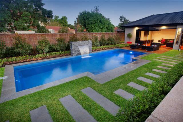 8 Unusual Uses for Artificial Grass - Artificial grass is a perfect surround for your pool, Australian Outdoor Living.