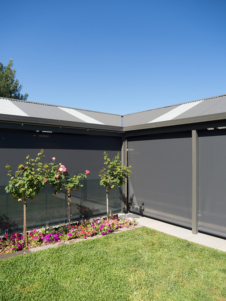 The Best Outdoor Shade Fabric for Your Blinds - Choosing the right shade fabric for your Outdoor Blinds, Australian Outdoor Living.