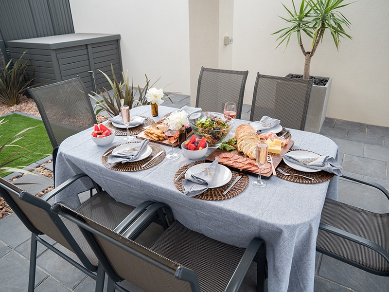 DIY Mother's Day Brunch: How to Thank Your Mum - Set up a Table Outside for Mother's Day Brunch, Australian Outdoor Living.
