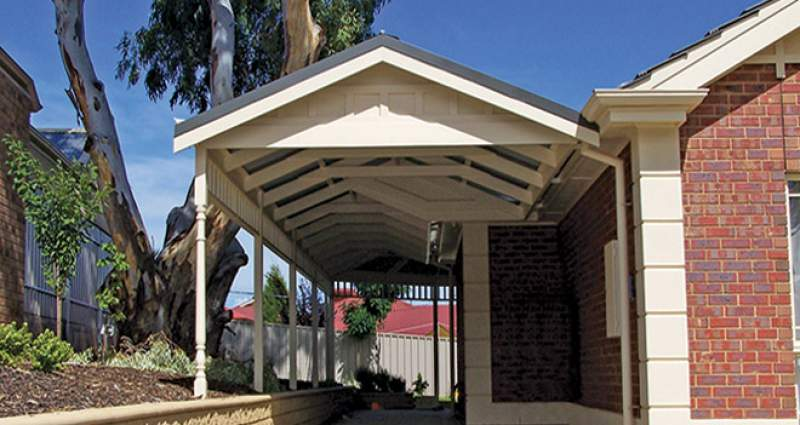 Keep your car protected from the elements with a carport from AOL - What can you do to prevent weather damage to your car, Australian Outdoor Living.
