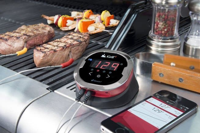 Best Outdoor Tech for Your Outdoor Entertaining Space - Bluetooth Steak Thermometer, Australian Outdoor Living.