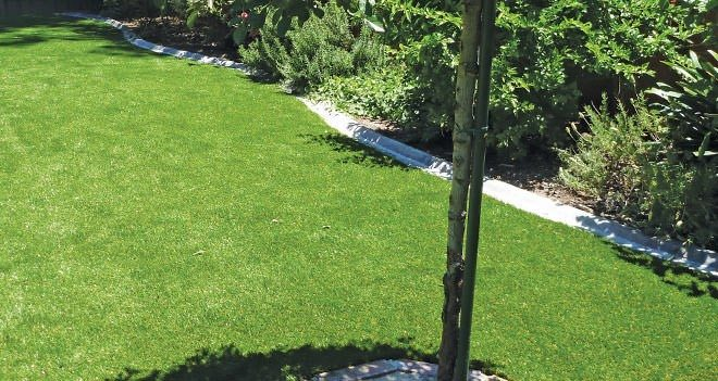 Energy Saving in your Outdoor Living Space - Energy saving artificial lawn, Australian Outdoor Living.