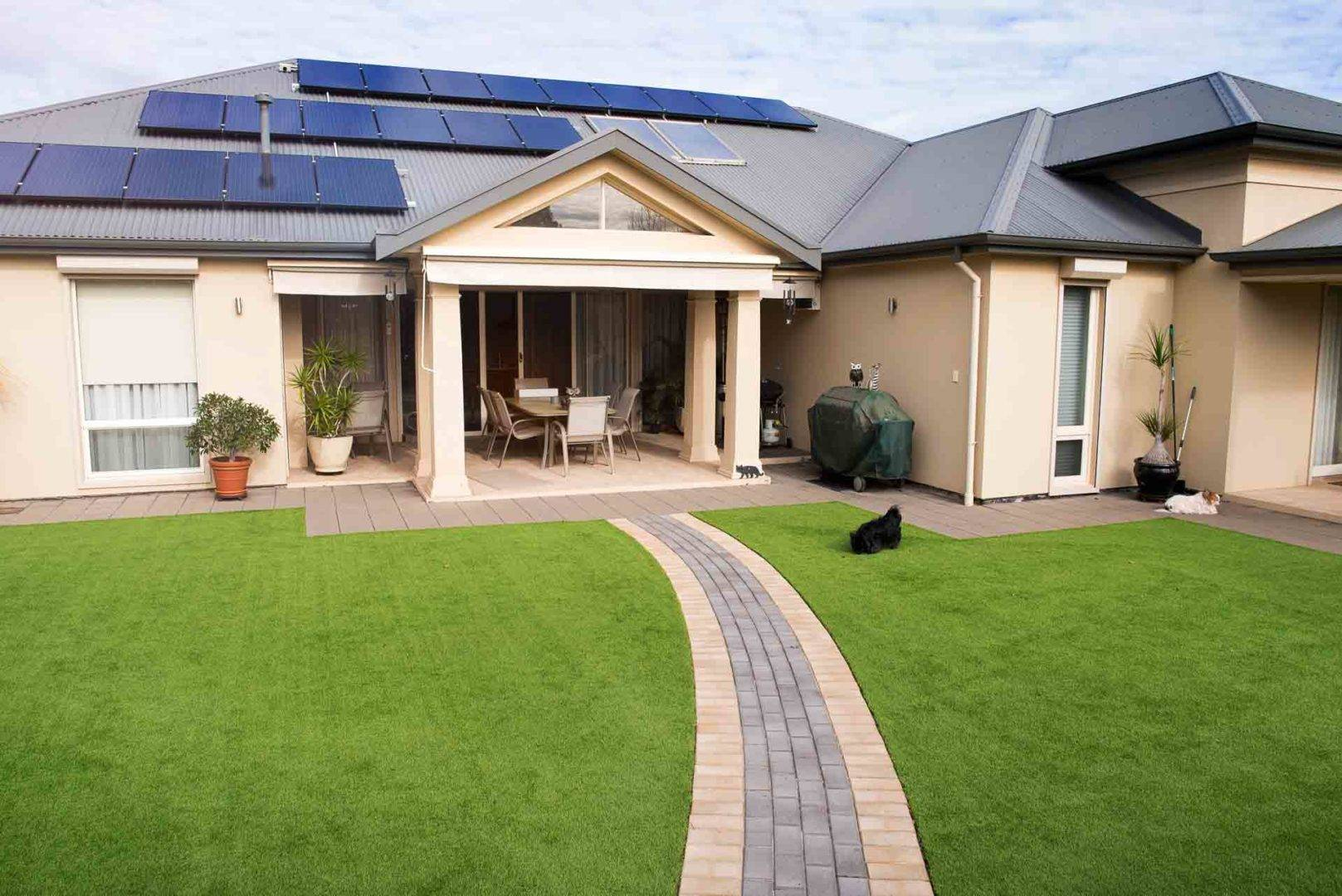 5 Tips on How to Maintain a Clean and Tidy Artificial Grass Lawn - Avoid using corrosive chemicals near your lawn, Australian Outdoor Living.
