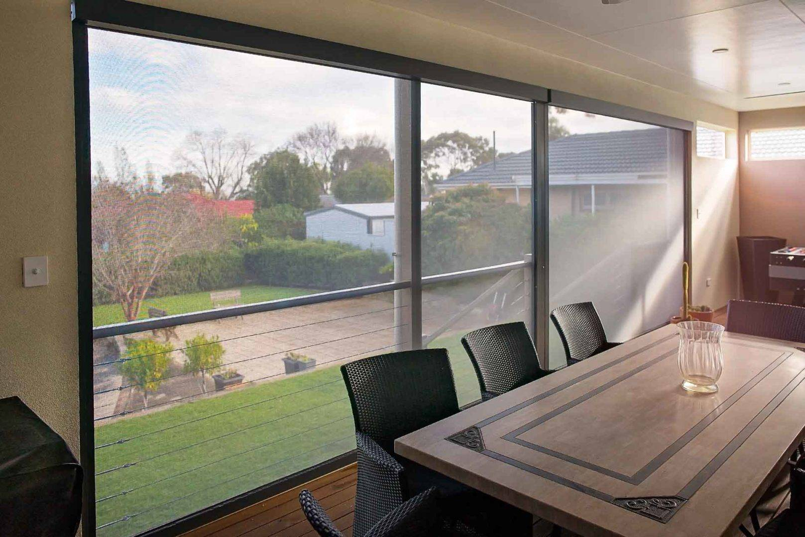 How you can entertain in comfort with outdoor balcony blinds - Shade outdoor balcony blinds, Australian Outdoor Living.