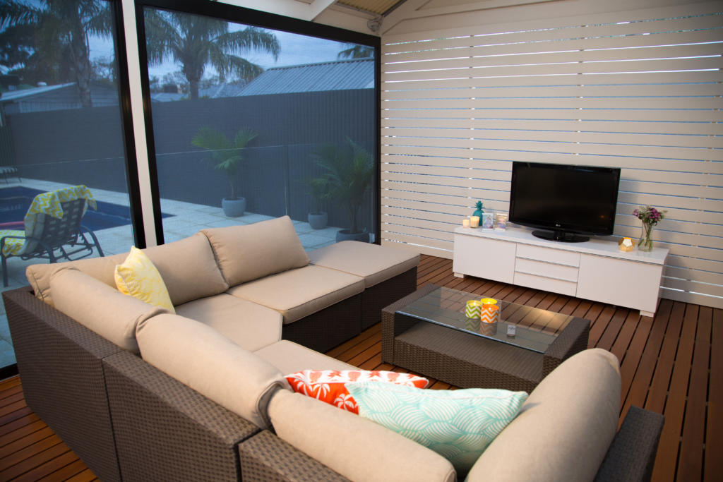 How to winter proof your Verandah - Get cozy with some inviting outdoor furniture, Australian Outdoor Living.