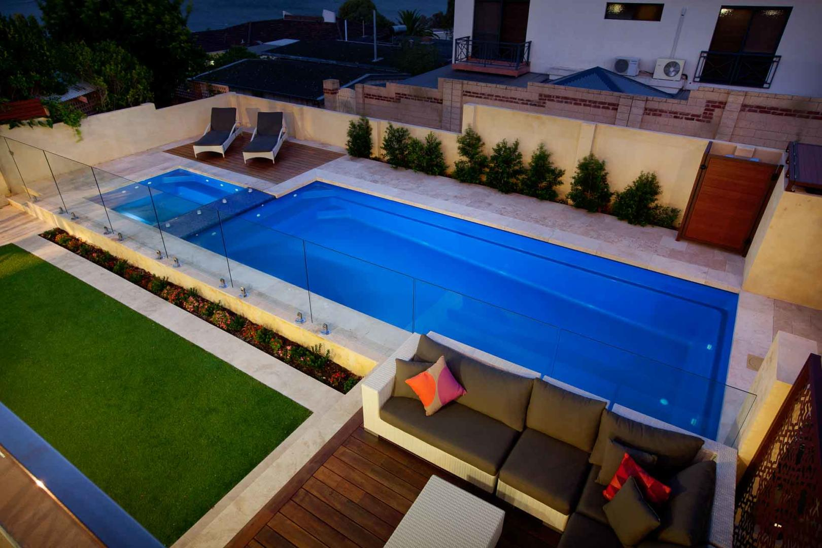 How to choose a swimming pool that's right for your backyard - Consider the shape and size of your block, Australian Outdoor Living.