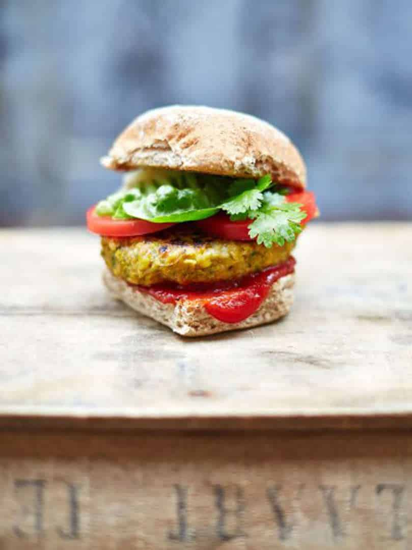 The BBQ is not just for the meat-lovers - The best Vegan burger, Australian Outdoor Living.