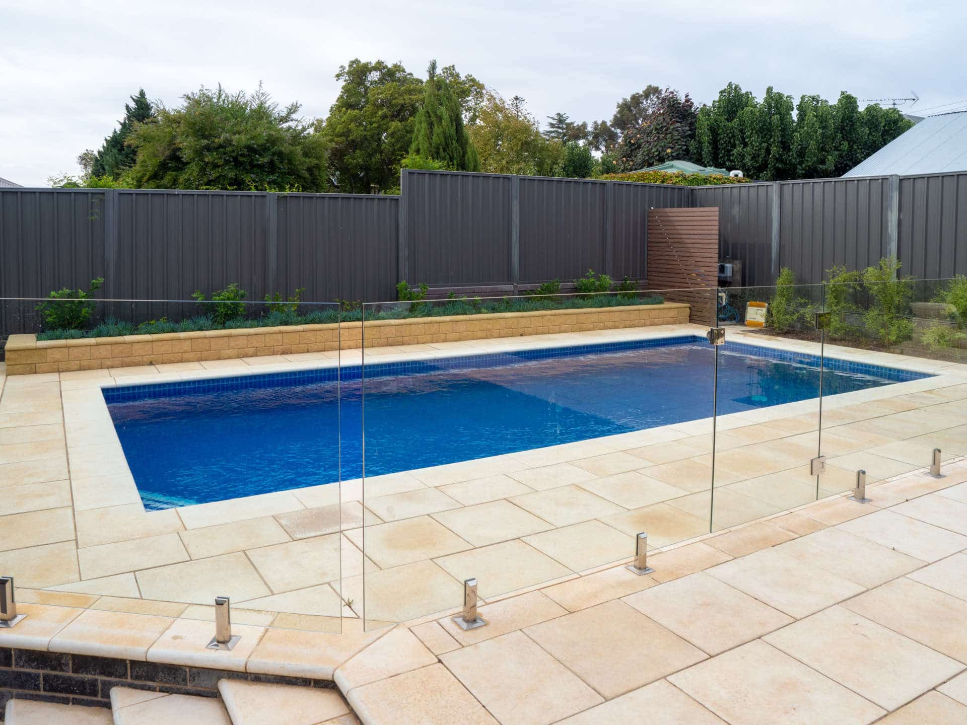 Australian Outdoor Living makes splash at South Australian awards ceremony - Australian Outdoor Living won gold in the Concrete Pool up to $50,000 category with this stunning install, Australian Outdoor Living.