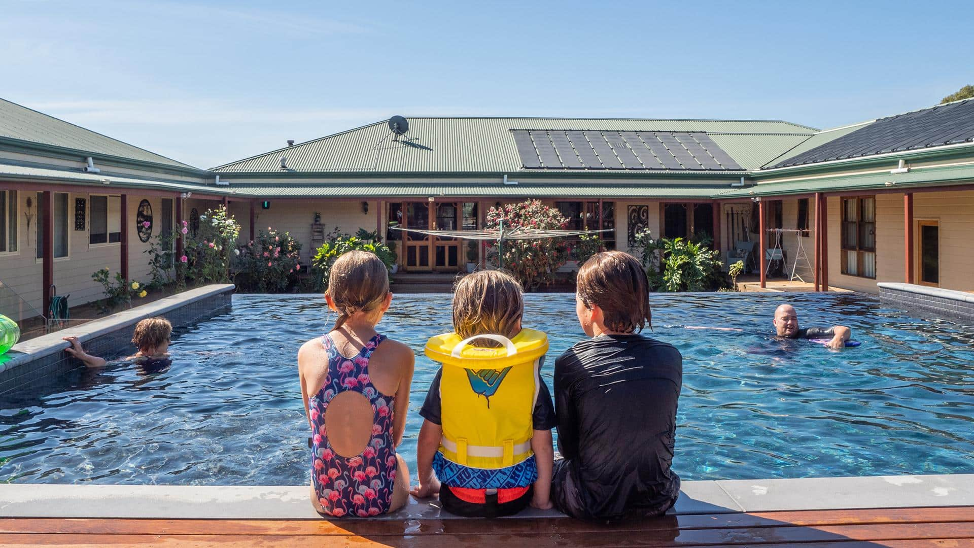 Swimming pool safety: how to keep the kids safe this summer - Children must be supervised at all times around the water, Australian Outdoor Living.
