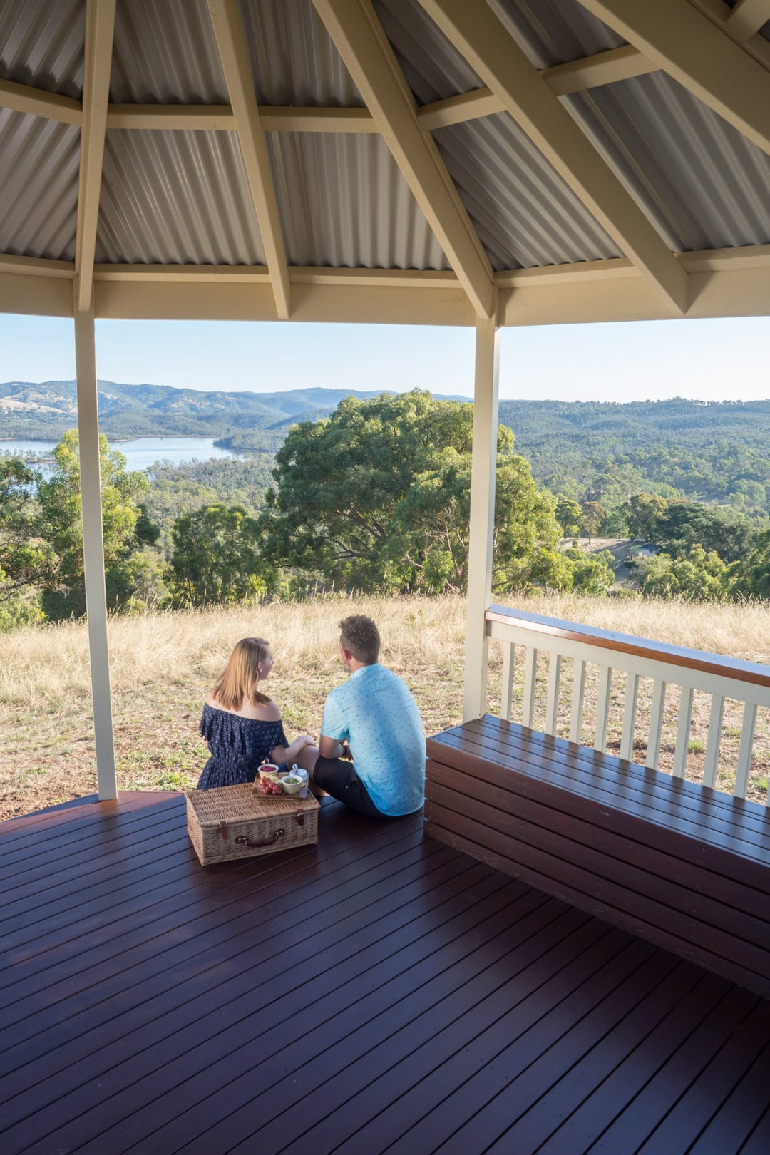 A helpful guide to buying a pergola or verandah - A gazebo will create the perfect spot for a picnic, Australian Outdoor Living.